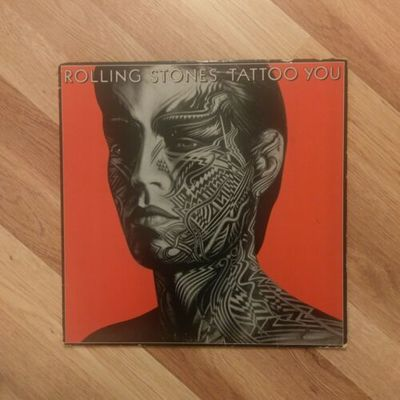 Gripsweat The Rolling Stones Tattoo You Vinyl Released 1981
