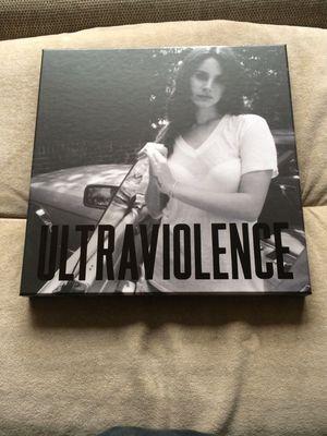 Gripsweat Lana Del Rey Ultraviolence Deluxe Picture Disc Vinyl Box Set