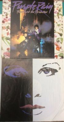 Gripsweat - Prince And The Revolution Purple Rain 1984 Press