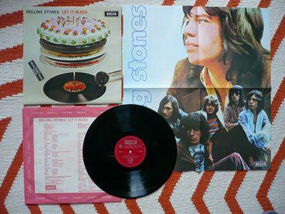 Gripsweat - The Rolling Stones Let It Bleed Vinyl UK 1969