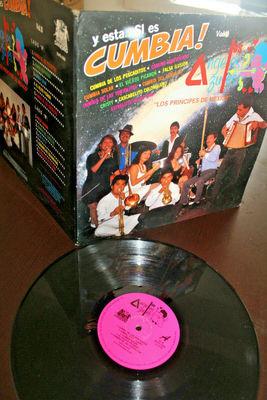 Gripsweat Los Angeles Azules Y Esta Si Es Cumbia Afro Latin 1991 Mexico Lp Gatefold