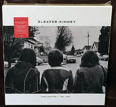 Gripsweat Sleater Kinney Start Together Colored Vinyl Box Set Sealed 7 X Lp