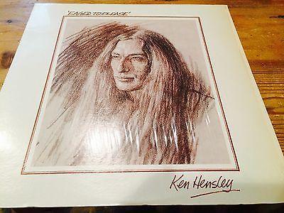 Gripsweat Ken Hensley Eager To Please Bronze Us Warner Brothers 1975 Lp In The Shrink Wrap