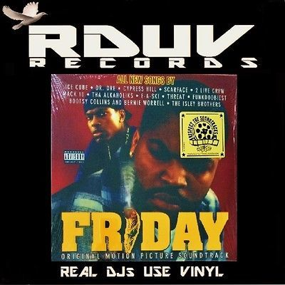 Gripsweat Friday Soundtrack 2 Lp Lenticular 3d Vinyl 12 Album Us Ri 15 Ice Cube #2 live crew #miami bass #hoochie mama #friday soundtrack #as nasty as they wanna be #ice cube #uncle luke #luke skyywalker #mr. gripsweat