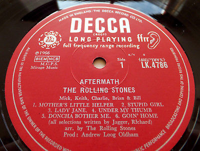 Gripsweat - The Rolling Stones - Aftermath // UK Unboxed