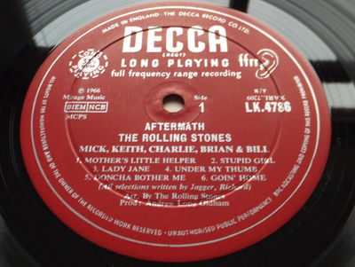 Gripsweat - The Rolling Stones - Aftermath // Orig  1st UK