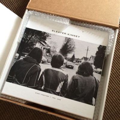 Gripsweat Sleater Kinney Start Together 7 Lp Boxed Set Colored Vinyl Open Box Sealed Lps