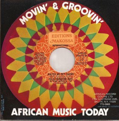 Gripsweat - RARE Afro Funk Afrobeat 45 FELA RANSOME KUTI
