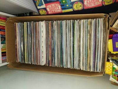 Gripsweat - Dj vinyl collection job lot, house, trance