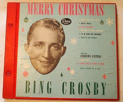 Bing Crosby Merry Christmas.Gripsweat Bing Crosby Merry Christmas The 1947 Four 78 Rpm