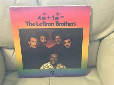 2d318f4ed8e8 LP  LATIN SOUL   LEBRON BROTHERS 4 + 1     GOT MYSELF TOGETHER   COTIQUE    LP EX