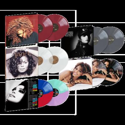 Gripsweat - Janet Jackson Exclusive Five Album Coloured