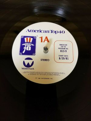 Gripsweat - AMERICAN TOP 40, AT40, CASEY KASEM, 1981-08-29