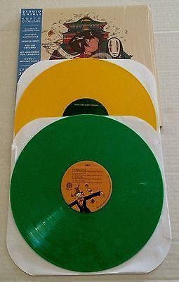 Gripsweat Studio Ghibli 2xlp Mondo Spirited Away Yellow Green Vinyl Soundtrack Score Ost