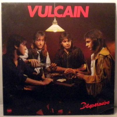 Gripsweat Vulcain Desperados French Metal Virgin Lp 1985