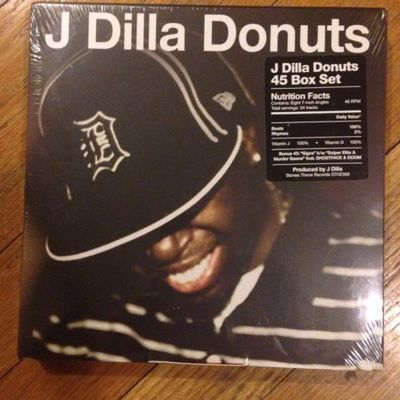 Gripsweat - J Dilla Donuts 45 Box Set Vinyl Stones Throw Records