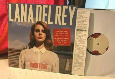 Gripsweat Lana Del Rey Rare Vinyl Lp Record Born To Die Masterpiece W Shrink Insert 2012
