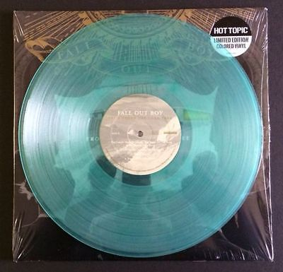 Gripsweat Fall Out Boy From Under The Cork Tree 2 Lp Coke Clear Vinyl 2000 Paramore