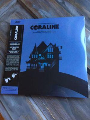 Gripsweat Mondo Coraline Original Soundtrack Vinyl 2xlp Purple Blue Swirl New Sealed