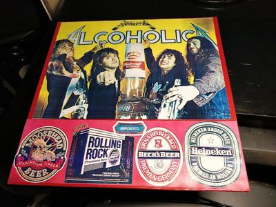 Gripsweat - Metallica Alcoholica LP VG+/NM Rare High Grade
