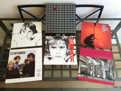 Gripsweat - U2: Special Club Edition - Ultra Rare 1985 Swedish 5 x