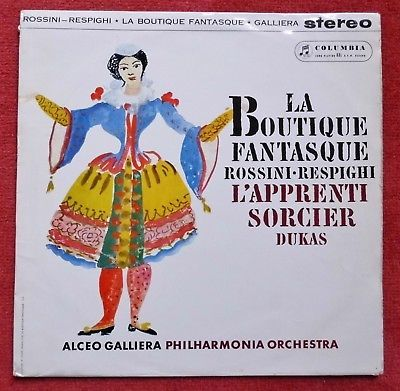 Gripsweat - Rossini-Respighi: La Boutique Fantasque - Galliera **Columbia  SAX 2419 ED1 LP**