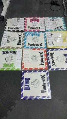 Gripsweat - Funkymix/ultimix sets 1 through 10 rare near mint oop