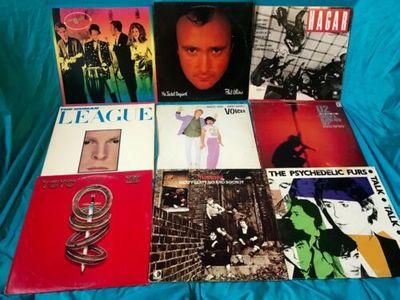 Gripsweat - CLASSIC ROCK Vinyl Albums Lot! 80 Records- Including
