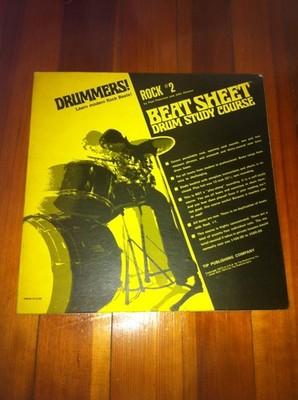 Gripsweat - BEAT SHEET Rock # 2 DRUM BREAKS BEATS LP on Tip
