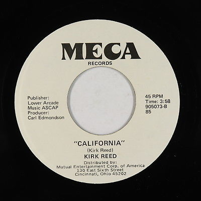Gripsweat - Modern Soul AOR 45 - Kirk Reed - California - Meca - VG+