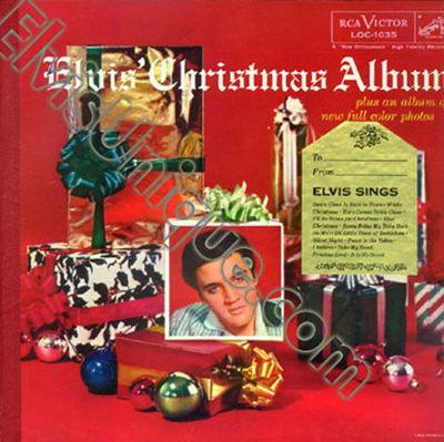 Elvis Christmas Album.Gripsweat Elvis Presley Elvis Christmas Album With Gold