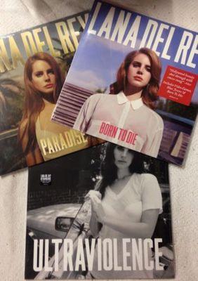 Gripsweat Lana Del Rey Ultraviolence Born To Die Paradise Lp Set Of 3 New Vinyl Sealed