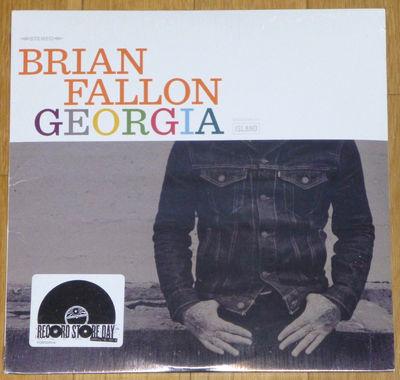 Gripsweat Brian Fallon Georgia 10 Sealed 2016 Rsd 2000 Gaslight Anthem Frank Turner