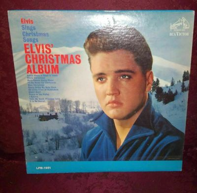 Elvis Christmas Album Vinyl.Gripsweat Elvis Presley Mono Elvis Christmas Album Rca