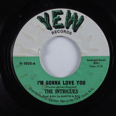 Gripsweat - Northern Soul 45 INTRIGUES I'm Gonna Love You
