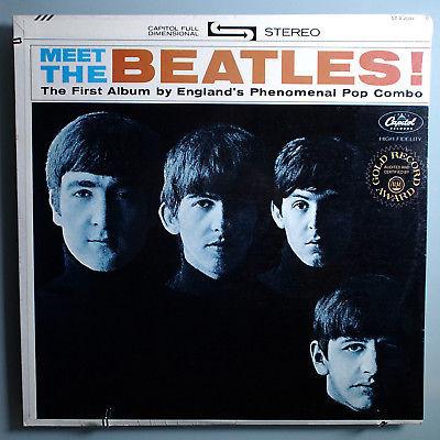 Gripsweat The Beatlesmeet The Beatlesinsanely Rare Sealed Orig