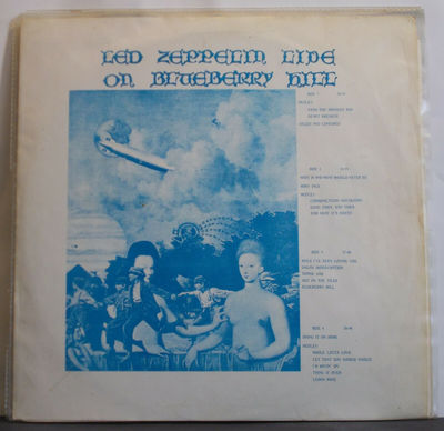 Gripsweat - LED ZEPPELIN - Live On Blueberry Hill - Rare US