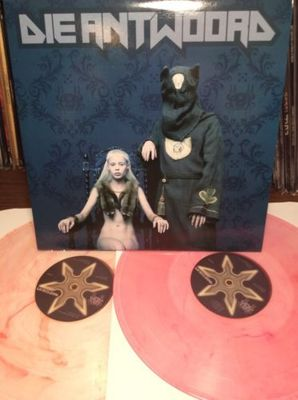 Gripsweat Die Antwoord O New Limited Edition Double Pink Clear Colored Vinyl Lp
