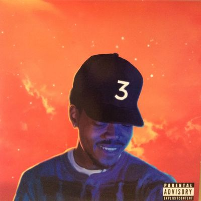 """Gripsweat - CHANCE THE RAPPER """" COLORING BOOK """" NEW MINT ..."""