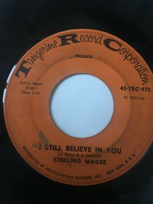 Gripsweat - RARE Northern Soul 1st Press 45/ Sterling Magee