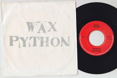 Gripsweat - WAX PYTHON * 1982 Belgium Private HEAVY METAL 45 * NWOBHM *